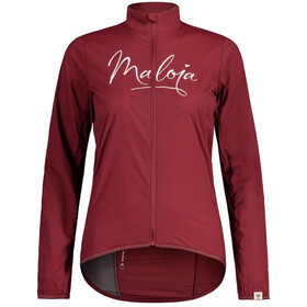 Maloja EvaM. Veste Superlight Femme, red monk
